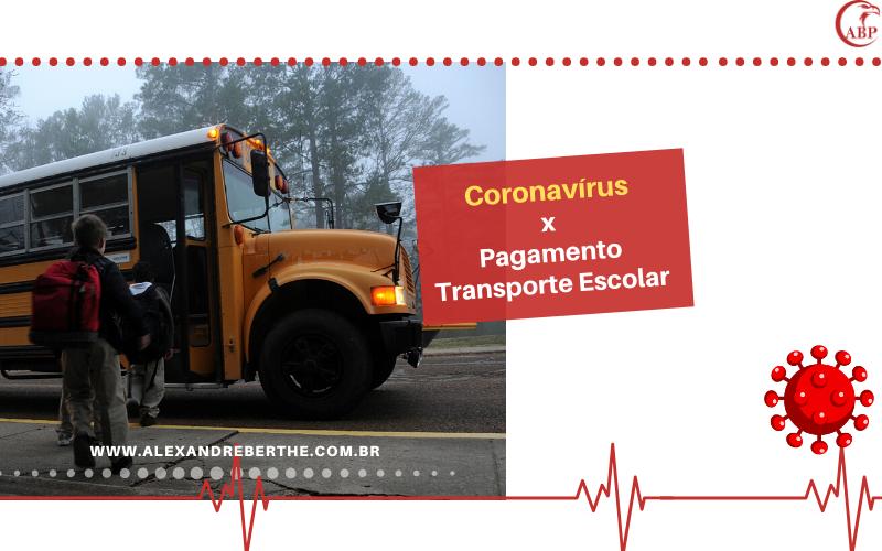 coronavirus transporte escolar