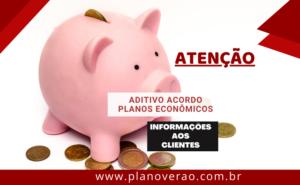 ADITIVO ACORDO PLANOS ECONOMICOS