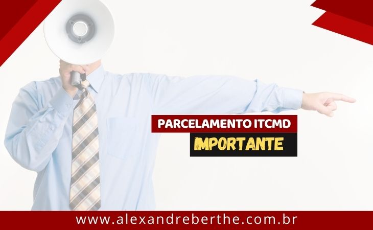 parcelamento itcmd