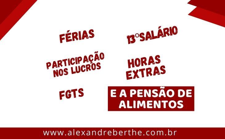 PENSAO ALIMENTOS FERIAS