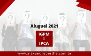 reajuste aluguel 2021