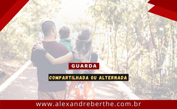 GUARDA COMPARTILHA OU DIVORCIADA